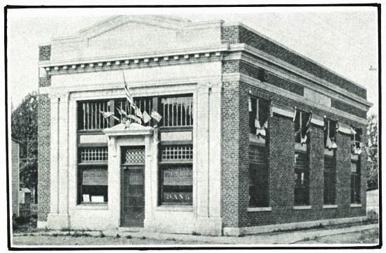 Lake Central Bank History Citizens State Bank in 1923