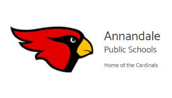 Annandale Public Schools Home Of The Cardinals Logo