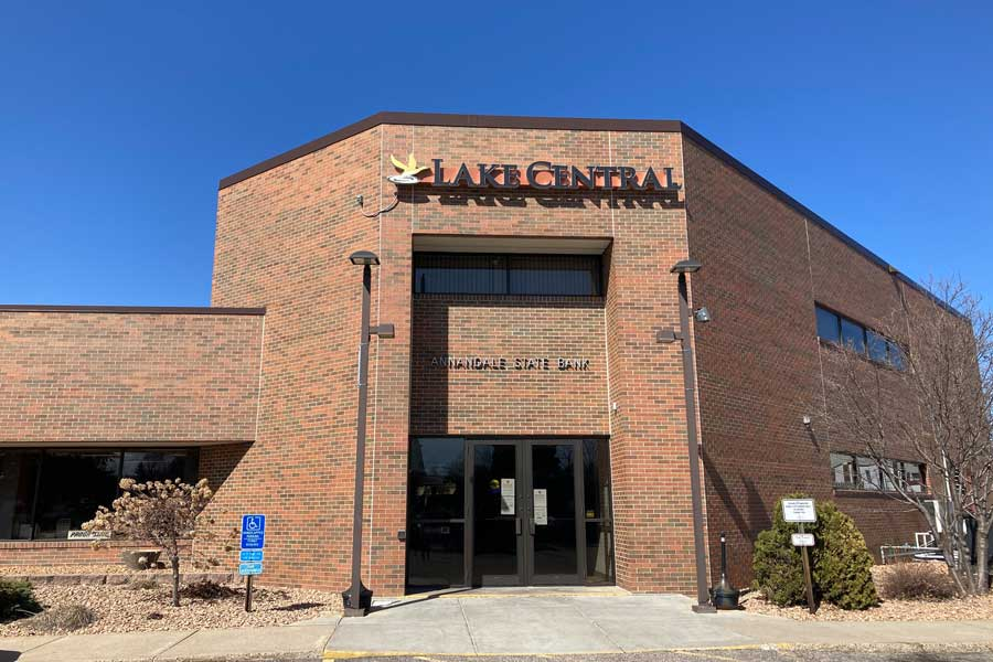 Lake Central Bank Annandale Minnesota Building Location