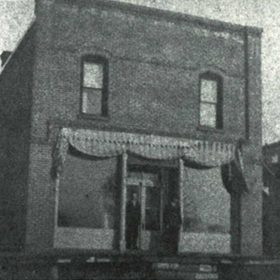 Square Image Lake Central Bank History Annandale State Bank 1893 1920