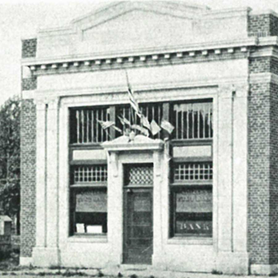 Square Image Lake Central Bank History Citizens State Bank 1923