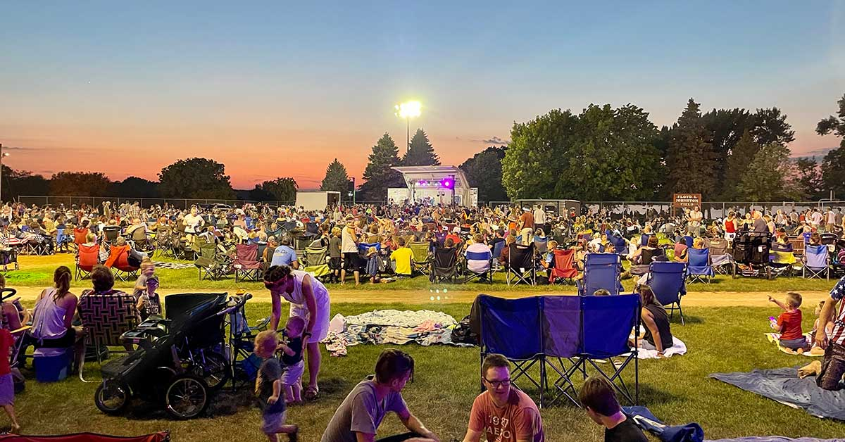 2021 Annandale 4th Of July Celebration Lake Central Bank